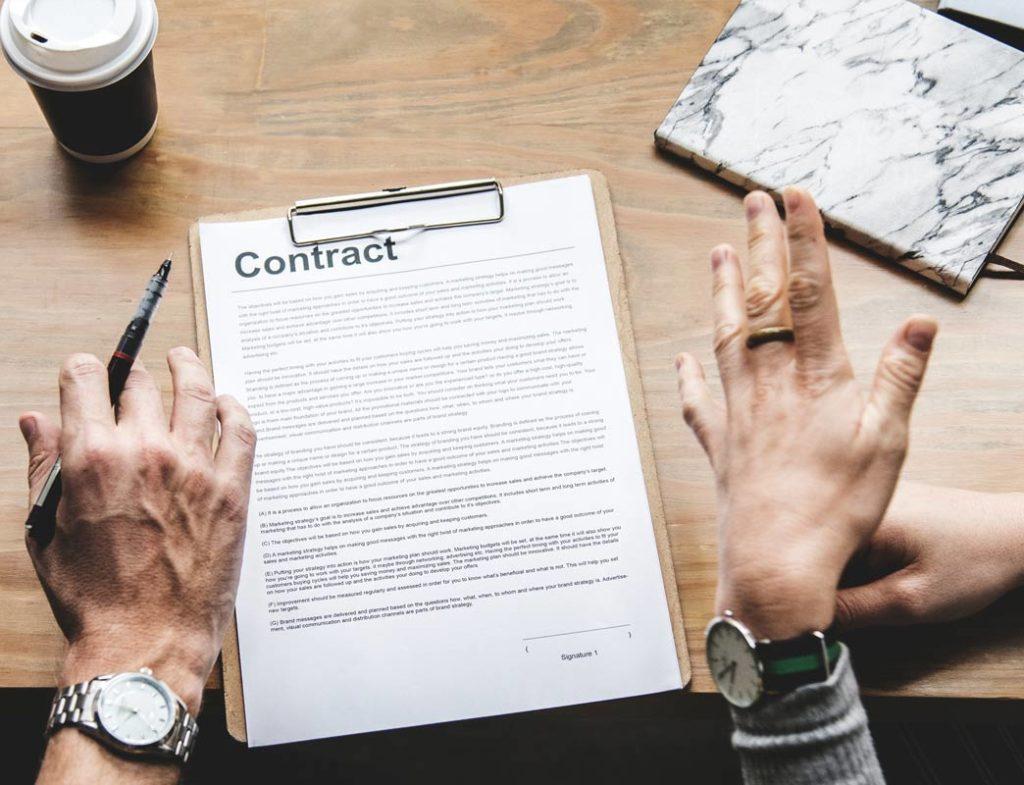 Contrat déménagement